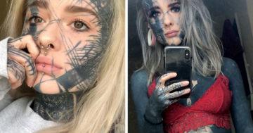 Tetovált test