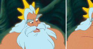 Disney szereplők szakáll nélkül