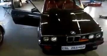 Felrobbant BMW
