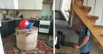 Furcsa konyha lakberendezés