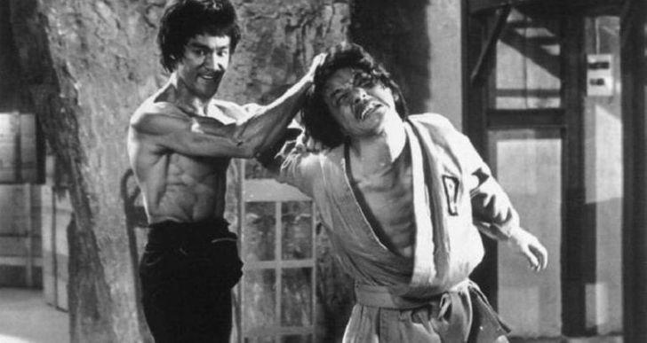 Jackie Chan és Bruce Lee