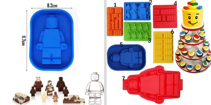 LEGO silikon