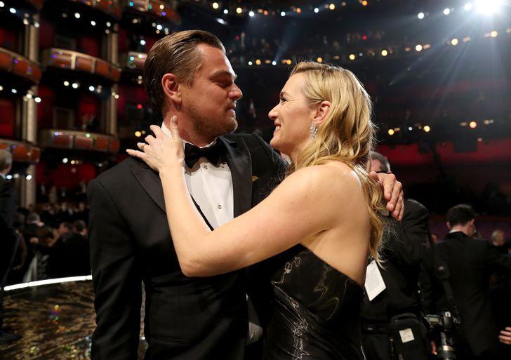 Leonardo DiCaprio és Kate Winslet Oscar2