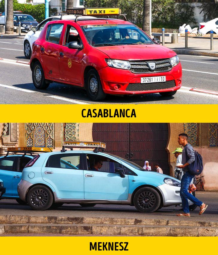 Marokkoi taxik