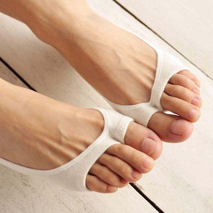 Nyitott zokni