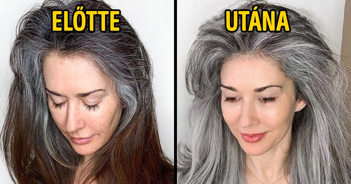 Ősz női hajak