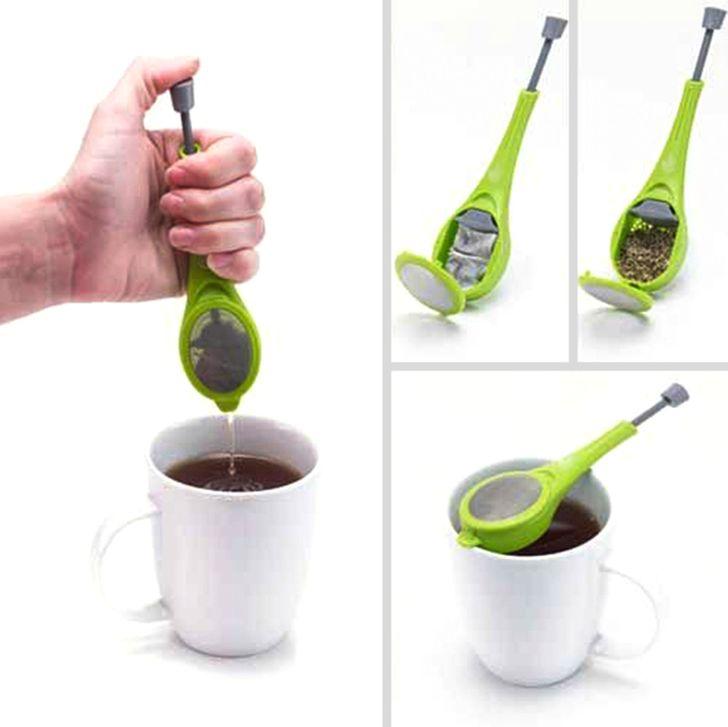 Préselhető teafilter