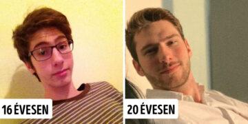 Pubertáskor végére megváltozott emberek