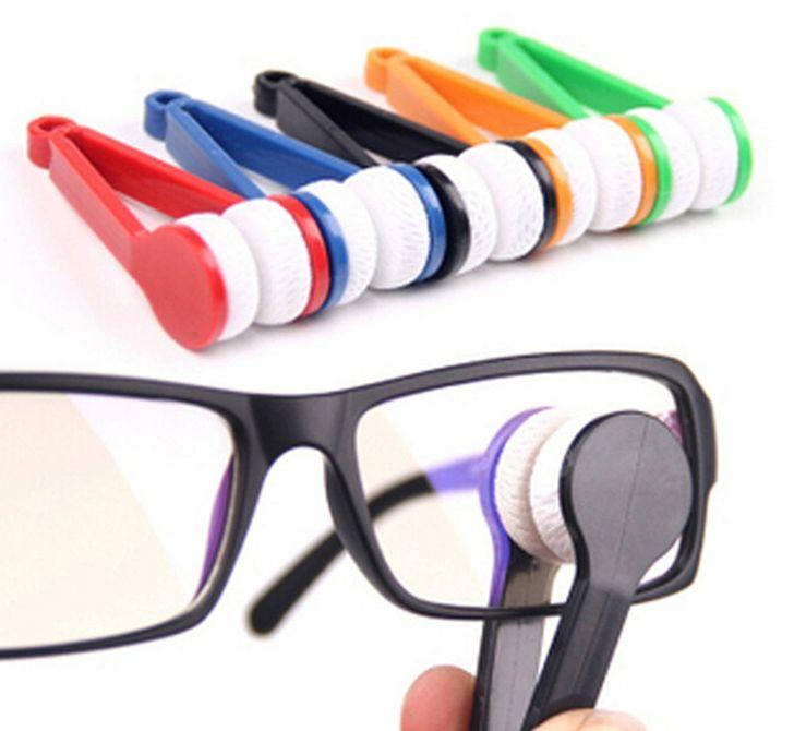 Szemüvegtörlő csipesz