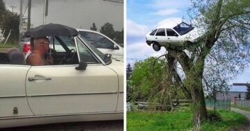 Autósok furcsa pillanatai