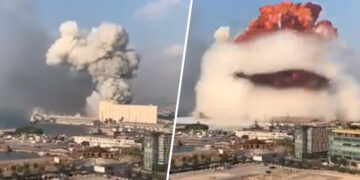 Bejrúti robbanás