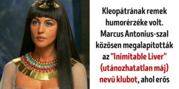 Érdekes tények Kleopátráról