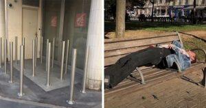 Hajléktalan ellenes dizájnok
