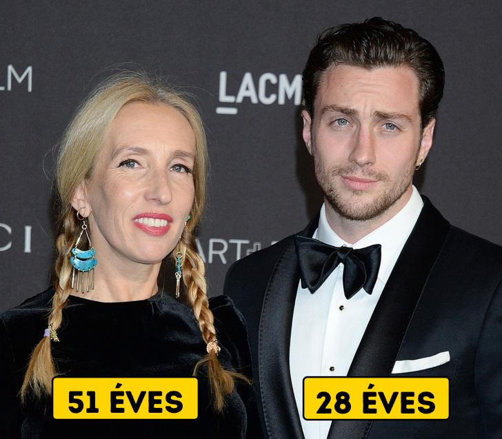 Idősebb nő és srác