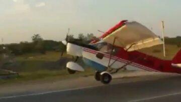 Kisrepülőgép felszállás