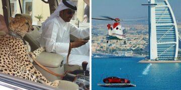 Különleges pillanatok Dubaj