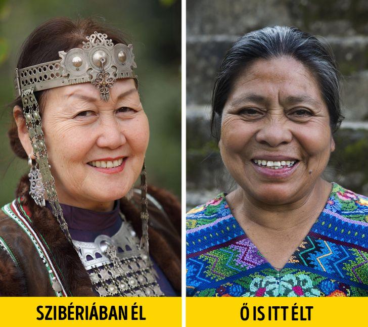 Maja emberek szibériából