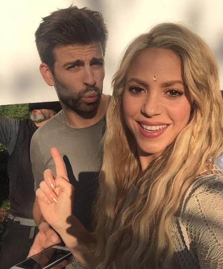 Piqué és Shakira
