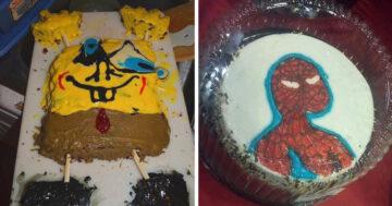 Születésnapi torta fail