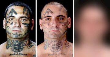 Tetovált rasszista átváltozása