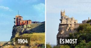 Turisztikai látványosságok régen