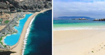 Üres chilei strandok érdekes
