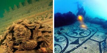 Vízalá süllyedt ősi városok