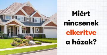 Amerikai házak kerítése kérdés