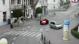 Ellopott kocsi