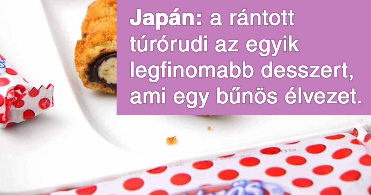 Furcsa ételek más országokból