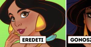 Gonosz Disney hercegnők
