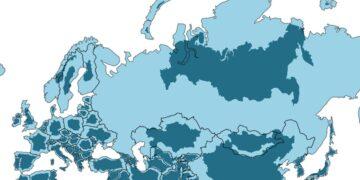 Országok valódi mérete
