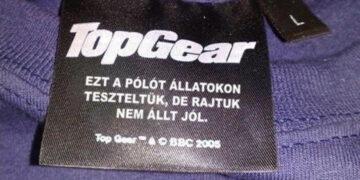 Vicces ruhacímkék