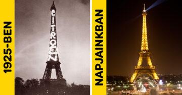 Világhírű látványosságok régen és most
