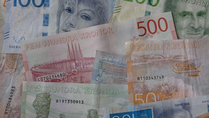 svédországi pénz