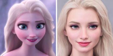 Disney szereplők a valóságban