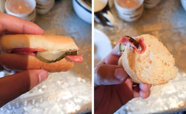 Gazdaságos szendvics