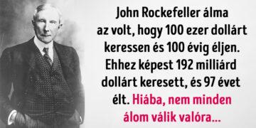 John D Rockefeller spórolása