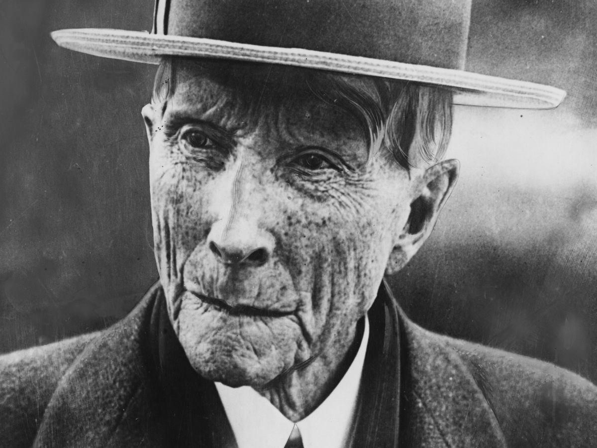 John D. Rockefeller története
