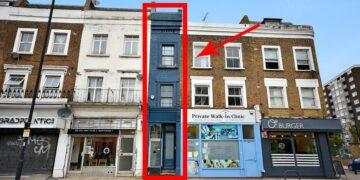 London legszűkebb háza eladó