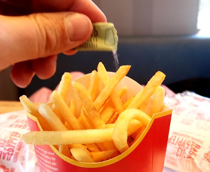 McDonalds krumpli