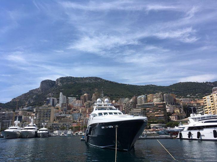 Monaco kikötő