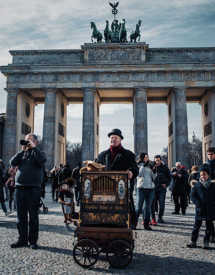 Német nyilvános helyek