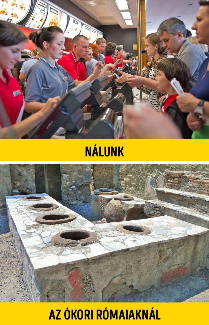 Ókori római gyorséttermek