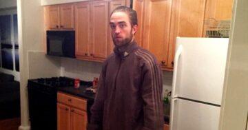 Robert Pattinson melegítős mém