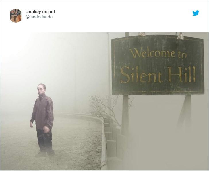 Robert Pattinson silent hill
