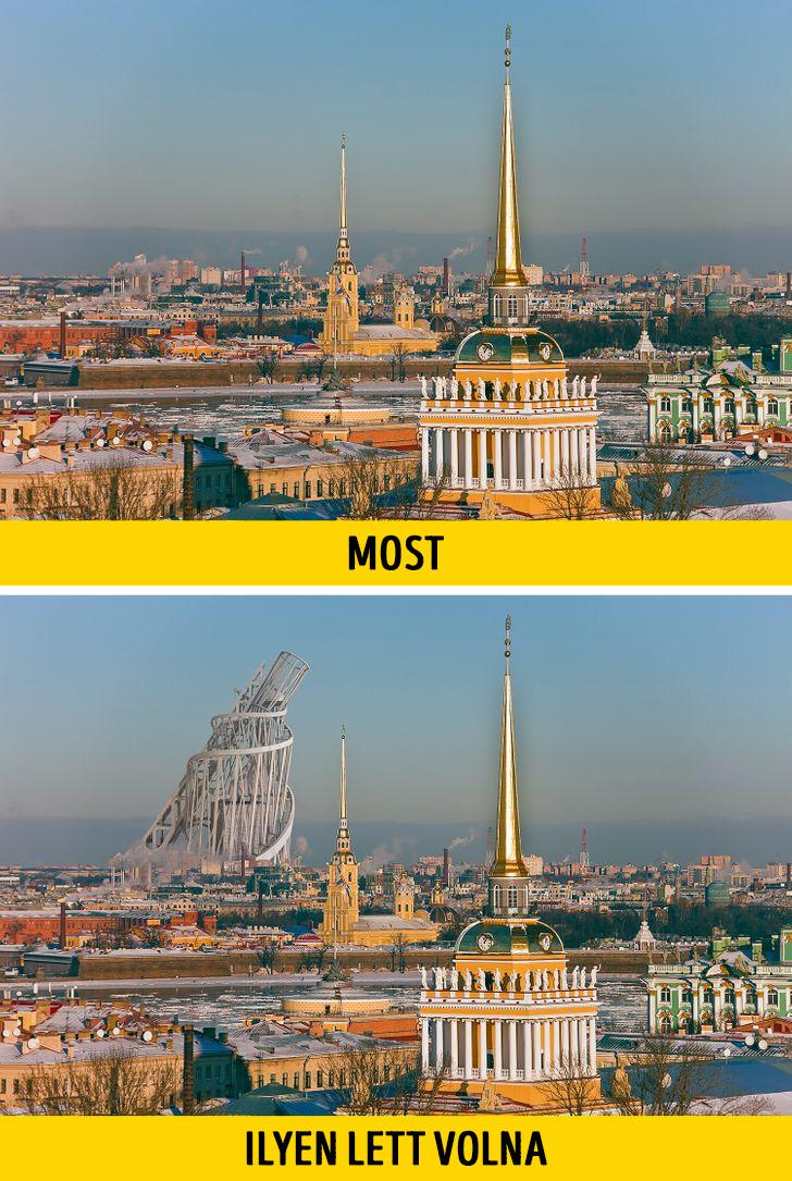 Tatlin torony Szentpetervar