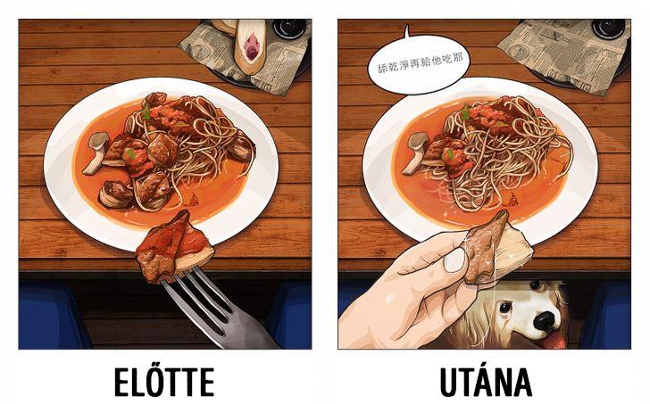 Vacsora allatokkal