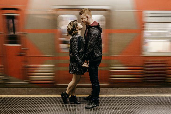 Viselkedés metró