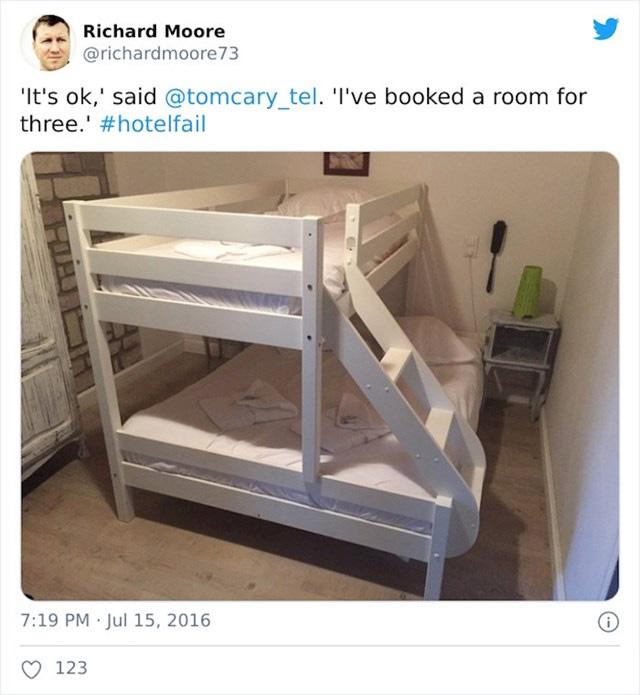 Harom szemelyes szoba